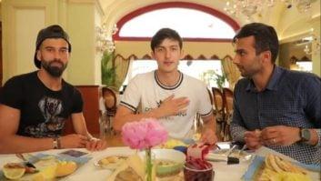 تیم ملی ؛ فیلم ؛ پیام رامین رضائیان و سردار آزمون پیش از بازی با پرتغال در جام جهانی