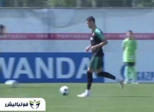 تیم ملی ؛ تمرین تیم ملی پرتغال پیش از تقابل با ایران در جام جهانی 2018