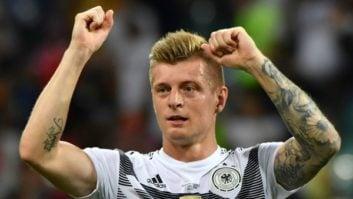 تونی کروس زننده گل پیروزی بخش آلمان به سوئد در جام جهانی