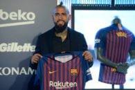 بارسلونا برای آرتور ویدال ستاره جدیدش بند فسخ قرارداد 300 میلیونی قرار داده است