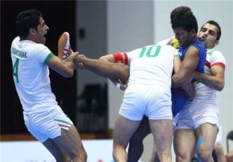 کبدی مردان ایران