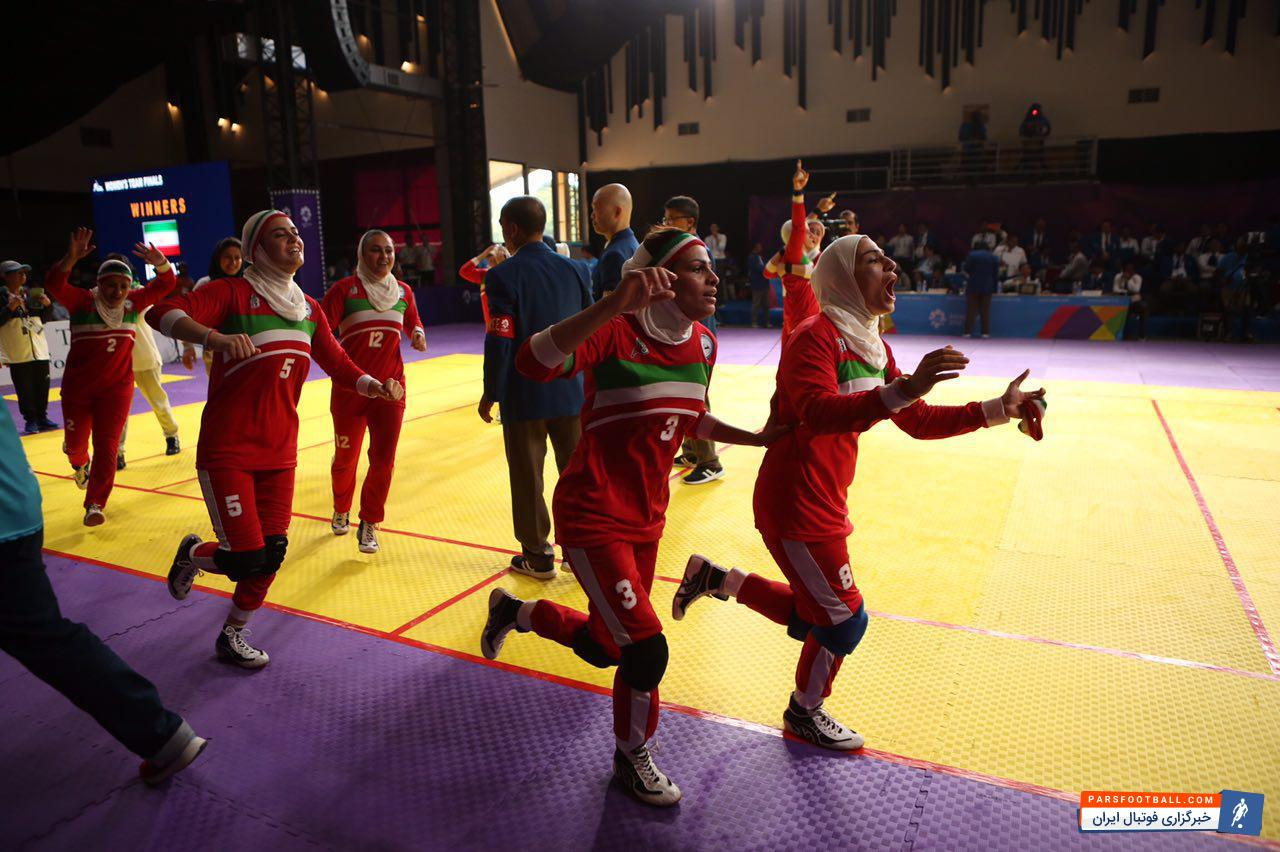 ورزش ؛ تیم کبدی بانوان ایران در بازی های آسیایی 2018 جارکاتا موفق به کسب مدال طلا شد