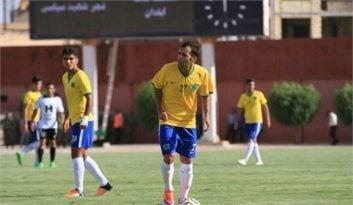 جهانی ؛ گل اول تیم فوتبال صنعت نفت آبادان به پرسپولیس تهران از سوی میلاد جهانی