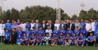 تمرین عصر امروز (شنبه) تیم فوتبال استقلال تحت تاثیر حضور رئیس فدراسیون فوتبال برگزار شد.
