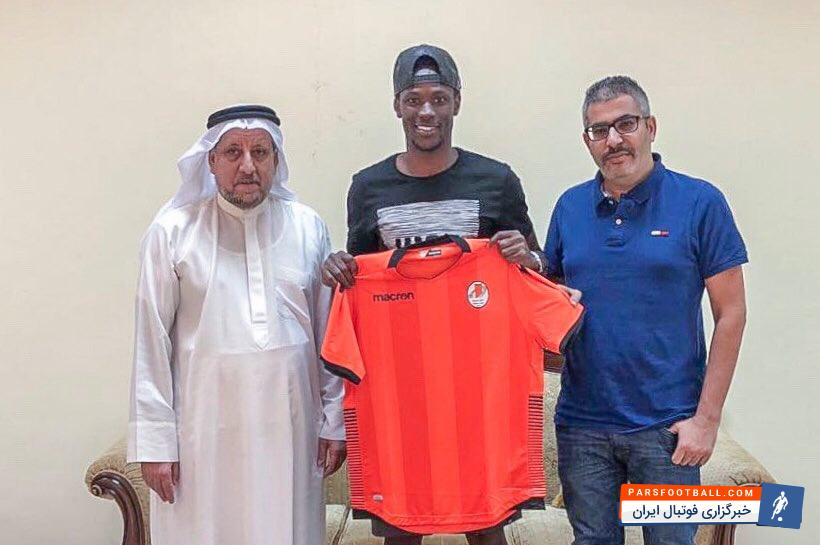 مامه تیام مهاجم سنگالی که جدایی خوبی از استقلال نداشت، امشب چهارشنبه قرارداد 2 ساله خود را با تیم اماراتی امضا کرد.