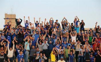 درگیری شدید هواداران در بازی پرسپولیس و استقلال خوزستان