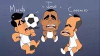 مورینیو ؛ انیمیشن جالب عمر مومنی با مضمون عدم علاقه مورینیو به استفاده از استعداد های جوان