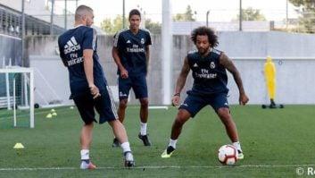 رئال مادرید ؛ بازگشت مارسلو ،کاسمیرو ، واران و کواچیچ به تمرینات رئال مادرید