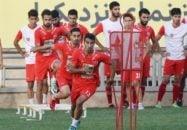 تمرین عصر امروز (دوشنبه) تیم فوتبال پرسپولیس در ورزشگاه شهید کاظمی برگزار شد.