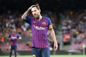 بارسلونا ؛ گلزنی لیونل مسی در دیدار برابر آیندهون و پیشی گرفتن از رونالدو