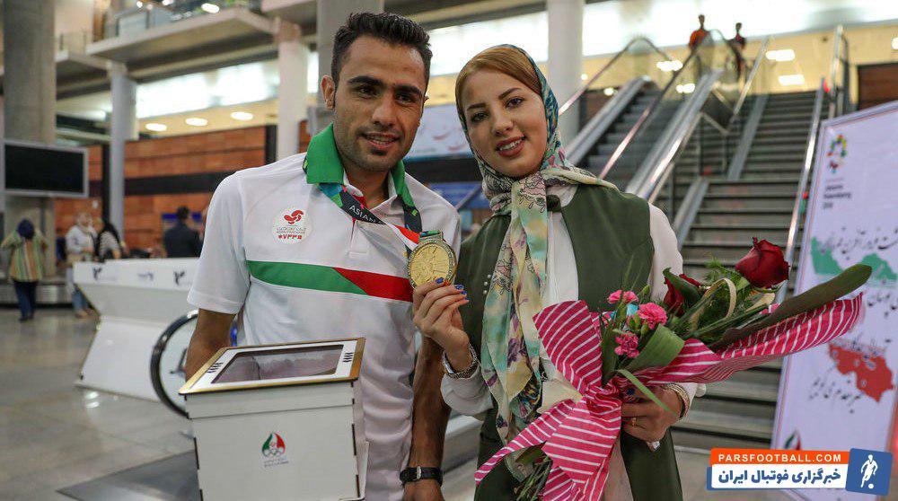 حسین کیهانی  قهرمان و رکورددار دوی استقامت آسیا است حسین کیهانی در بازگشت به ایران مورد استقبال مسئولان ورزش کشور و البته خانواده اش قرار گرفت.