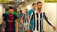 چالش ضربات ایستگاهی با مسی و رونالدو در بازی PES 19