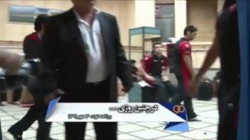 کلیپی از بررسی مصدومیت های عجیب بازیکنان پرسپولیس در دیدار عحیب با سپاهان