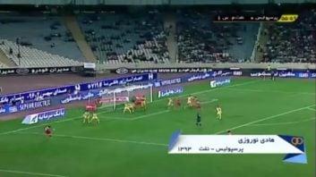 گلزنی ستاره های لیگ برتر ایران