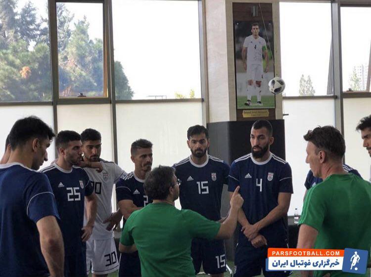 امیر عابدزاده گلر ایرانی تیم ماریتیمو پرتغال شب گذشته به اردوی تیم ملی اضافه شد امیر عابدزاده در تمرین صبح امروز در پک نیز حضور یافت.