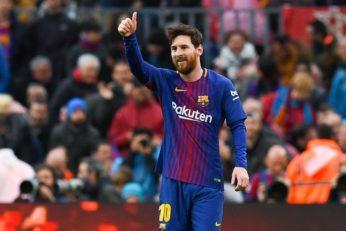 مسی ستاره تیم فوتبال بارسلونا به عنوان برترین بازیکن هفته دوم لیگ قهرمانان انتخاب شد