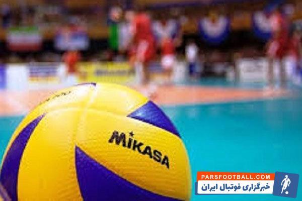 والیبال ایران - فرهاد میرزایی