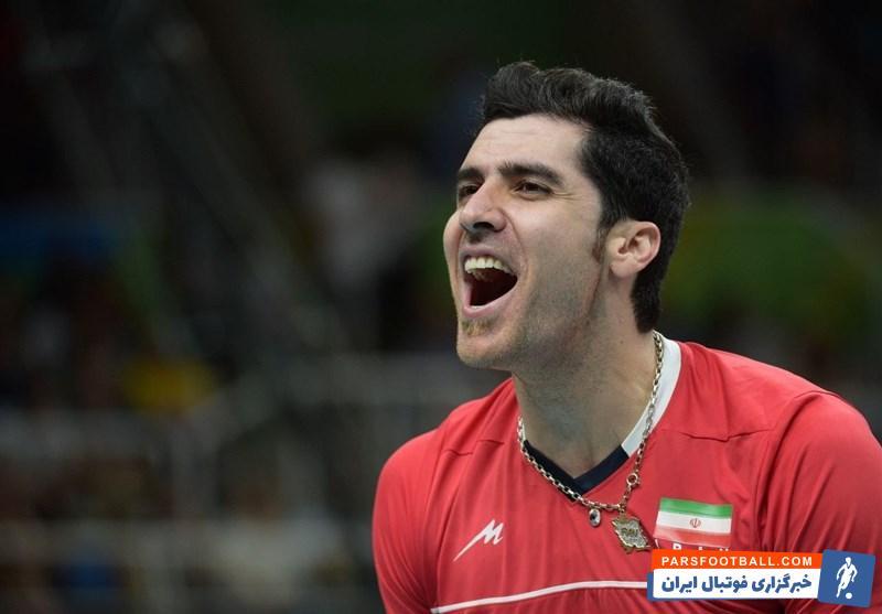 شهرام محمودی ؛ پیام شهرام محمودی والیبالیست پیشین تیم ملی برای پرسپولیس