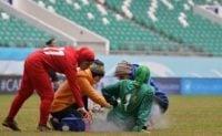 جنجال و درگیری در دیدار تیم ملی فوتبال بانوان ایران و ازبکستان