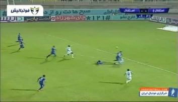 خلاصه بازی استقلال خوزستان 0-1 استقلال تهران لیگ برتر ایران