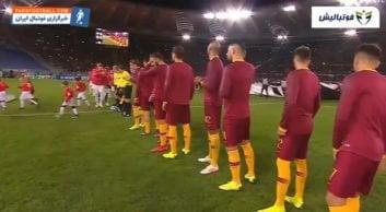 برتری دو بر صفر رئال مادرید برابر رم در لیگ قهرمانان اروپا