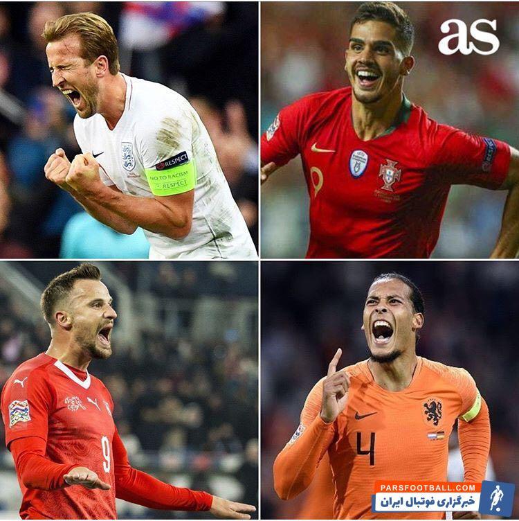 فوتبال ؛ نگاهی به تیم های حاضر در مرحله نیمه نهایی لیگ ملت های اروپا