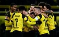 دورتموند در دیداری از هفته پانزدهم بوندس لیگا، با نتیجه 2-1 وردربرمن را شکست داد دورتموند قهرمانی اش در نیم فصل اول بوندس لیگا را قطعی کرد.