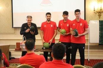 شب یلدای بازیکنان تیم ملی در اردوی قطر