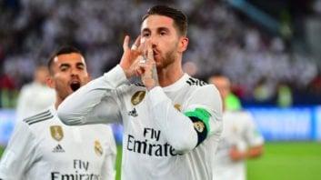 سرخیو راموس دقیقه 78 بازی با العین موفق شد گل سوم رئال را به ثمر برساند سرخیو راموس کاپیتان رئال سپس ورزشگاه را به سکوت دعوت کرد.