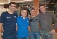 ایگور کولاکویچ به همراه دراگان کوبیلسکی و دنیل میشیچ دستیاران خود به ملاقات امیر غفور رفت غفور که در فصل جاری در لیگ سری آ ایتالیا و در تیم مونزا حضور دارد