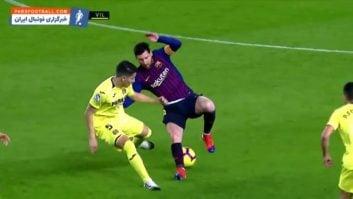 مسی ؛ عملکرد لیونل مسی ستاره بارسلونا در دیدار برابر تیم ویارئال در لالیگا