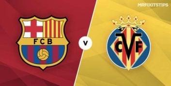 خلاصه بازی تیم های بارسلونا و ویارئال