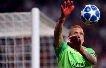 اولسن ؛ برترین سیو های روبن اولسن دروازه بان تیم فوتبال آ اس رم ایتالیا
