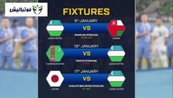 آشنایی با گروه F جام ملت های آسیا 2019 امارات