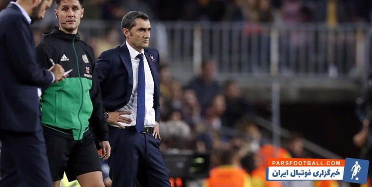 بارسلونا روبرتو دزربی را گزینه جایگزین والورده سرمربی فعلی تیمش در نظر گرفته است