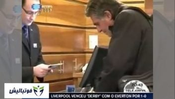 گزارش تلویزیون ملی پرتغال از درگیری کارلوس کی روش با یک خبرنگار