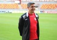 شادی بازیکنان فولاد خوزستان به همراه افشین قطبی در رختکن پس از پیروزی مقابل تراکتورسازی