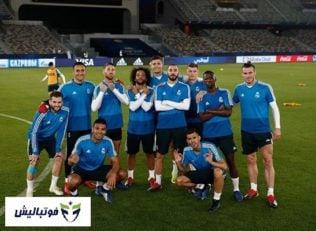 تمرین رئال مادرید پیش از دیدار با کاشیما آنتلرز