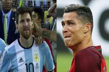 فوتبال ؛ اشک ها و گریه های ستاره های مطرح فوتبال جهان در زمین فوتبال