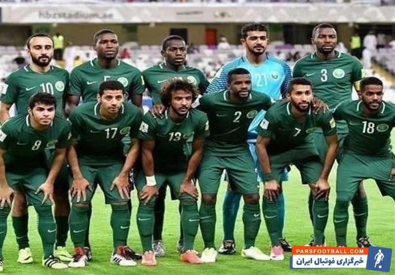 تیم ملی عربستان و لبنان
