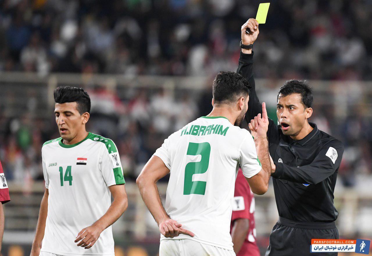 تیم ملی قطر و عراق
