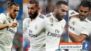 رئال مادرید ؛ برترین تکنیک های و مهارت های بازیکنان رئال مادرید در سال 2018