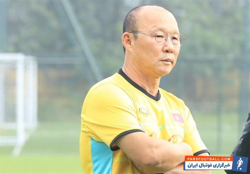 پارک هانگ سئو : رسانه های ایرانی در مدت اخیر تیم ملی فوتبال ویتنام را تحقیر د