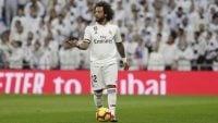 مارسلو ؛ اعتراض طرفداران رئال مادرید به مارسلو در بازی با سوسیه داد