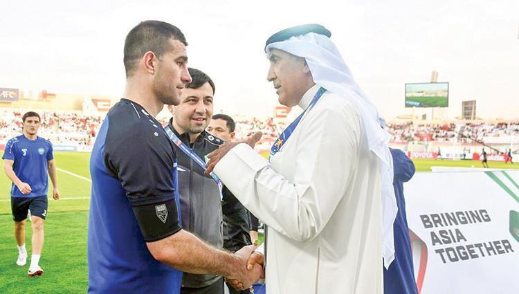 ایگور نستروف دروازهبان ۳۵ ساله تیم ملی ازبکستان است ایگور نستروف برای پنجمین دورن متوالی وظیفه حراست از قفس توری تیم ملی کشورش را بر عهده دارد .