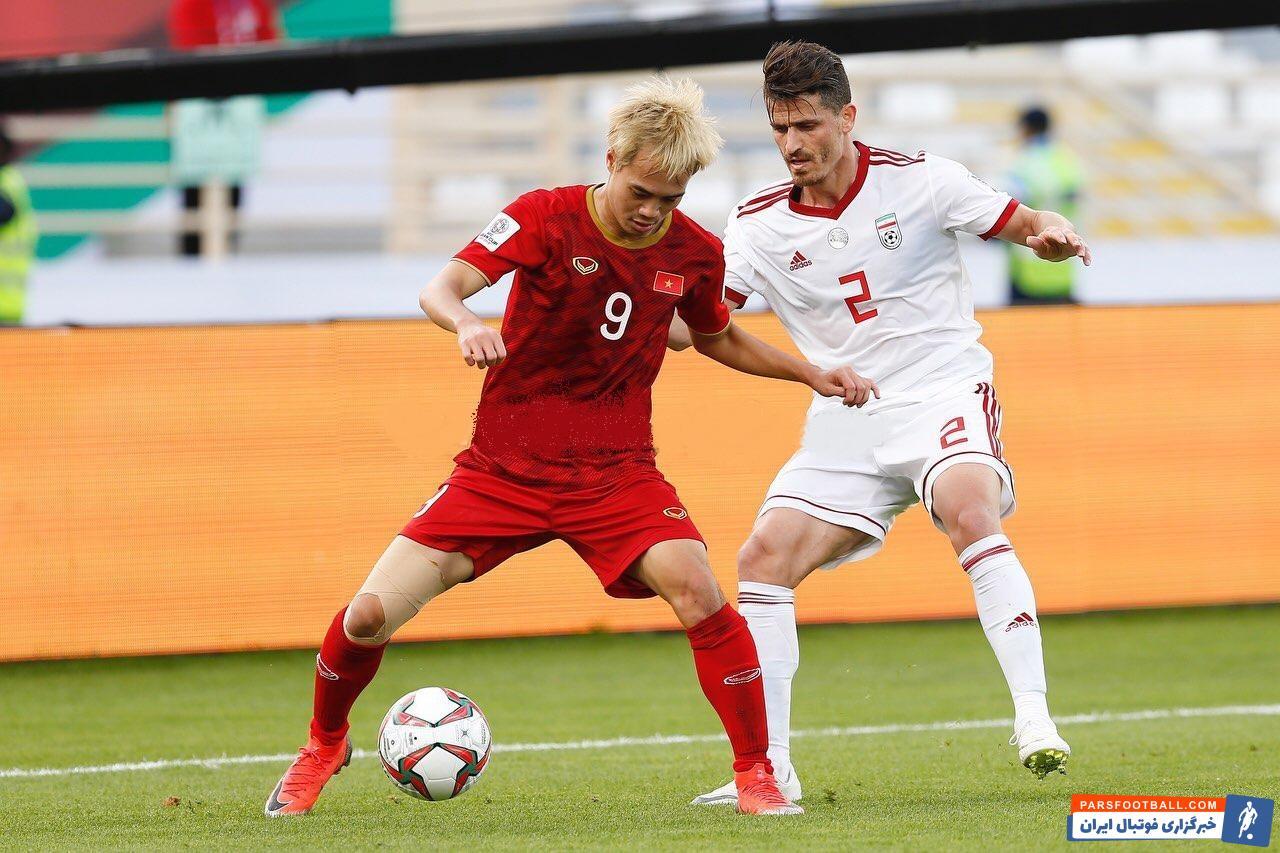 وریا غفوری بالاخره فرصت حضور در ترکیب ثابت تیم ملی را به دست آورد وریا غفوری در بازی دیروز با ویتنام یکی از مردان اصلی کارلوس کی روش بود.