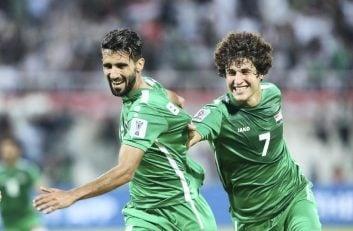 بشار رسن هافبک جوان تیم ملی عراق در دومین بازی تیمش برابر تیم ملی یمن گلزنی کرد بشار رسن یکی از بهترین های تیمش بود.