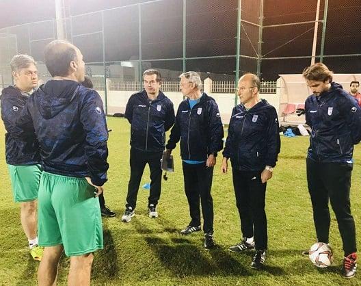 نیکو کرانچار به کشور قطر سفر کرده نیکو کرانچار به منظور بالا بردن روحیه اعضاى تیم در اردوى دوحه در تمرینات تیم ملى فوتبال امید ایران حضور یافته است.