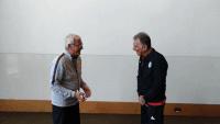کارلوس کی روش سرمربی پرتغالی تیم ملی ایران است کی روش امروز در محل اقامت شاگردانش در امارات با مارچلو لیپی سرمربی پرآوازه تیم ملی چین دیدار کرد.