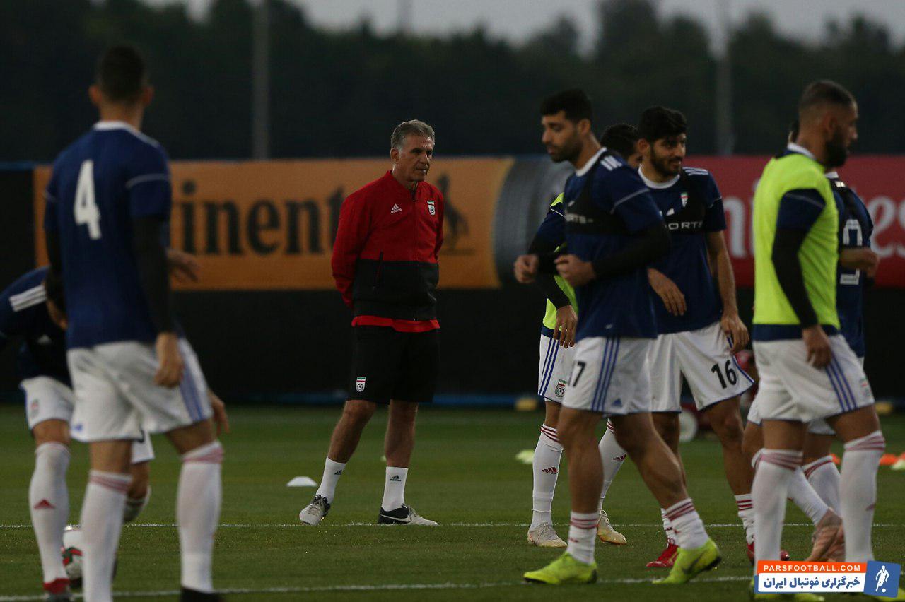 کی روش سرمربی تیم ملی ایران این روزها در امارات تیمش را برای بردهای بعدی آماده می کند کی روش هر روز کار می کند و خسته هم نمی شود.
